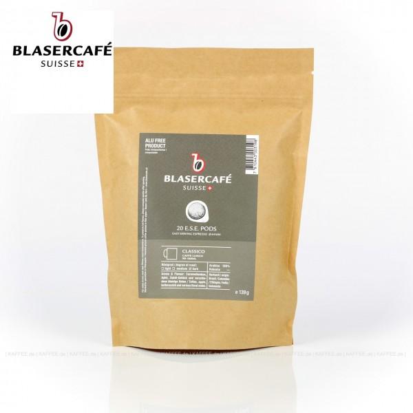 6x20 Pads je 7,00 g pro VPE, gemahlen, ESE-Standard 44mm, Gesamtinhalt 0,84 kg pro VPE, EAN-Code: 7610443003198