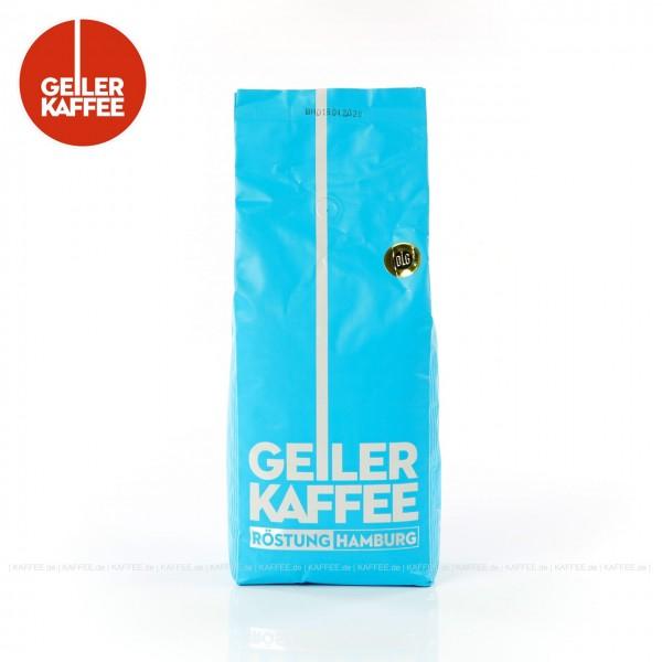 6 Bags je 1 kg pro VPE (blau), Bohne, Gesamtinhalt 6,00 kg  pro VPE, EAN-Code: 4260404690382