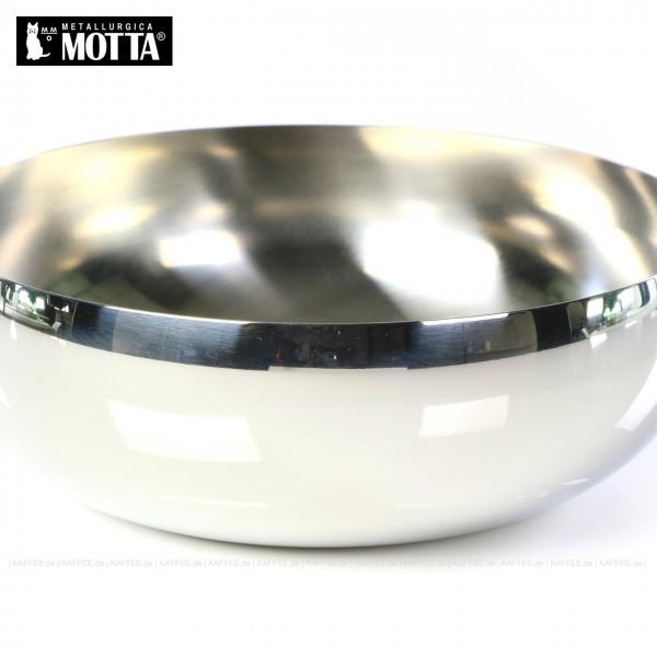 Zuckerdose aus Edelstahl für Zuckertüten, Form rund, Durchmesser 220 mm, Gesamtinhalt 1 Stück pro VPE, EAN-Code: 8007986095053