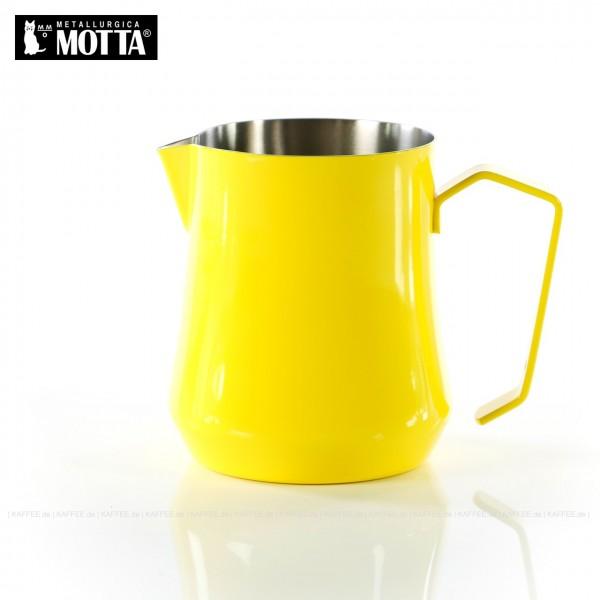 TULIP Milchkännchen aus Edelstahl (rostfrei), Füllmenge 500 ml, Farbe gelb (außen), Gesamtinhalt 1 Stück pro VPE, EAN-Code: 8007986042507