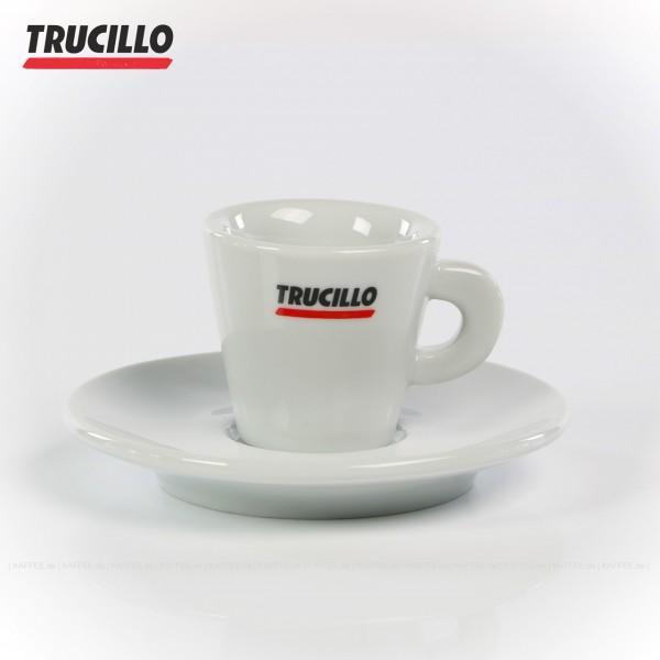 Farbe weiß mit Trucillo-Logo, 6 Tassen pro VPE, EAN-Code: