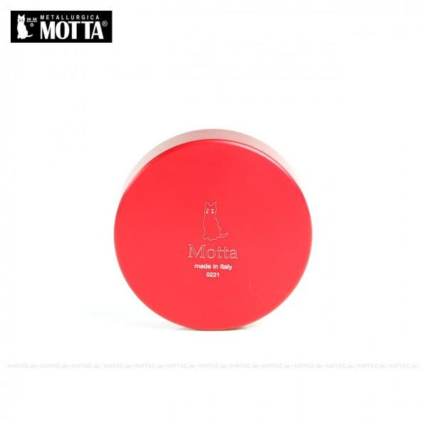 Leveller aus Edelstahl/Kunststoff rot,  Durchmesser 58,5 mm, Unterseite abgesenkt, Gesamtinhalt 1 Stück pro VPE, EAN-Code: 8007986083715