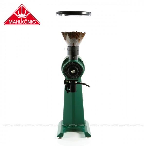 Kaffeemühle der Colorful Limited Edition Serie,  Farbe Moss green (RAL 6005), 83 cm hoch  mit einem Trichterinhalt von ca. 1.500 g, EAN-Code: 0000000002181 ## Weitergehende Informationen und technische Details finden Sie auch auf der Webseite des Herstell