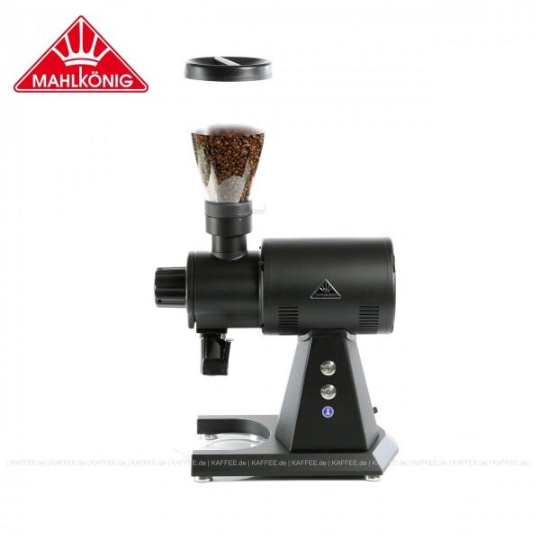 Kaffeemühle,  Farbe schwarz, 68 cm hoch mit einem Trichterinhalt von ca. 800 g, EAN-Code: 0000000002076