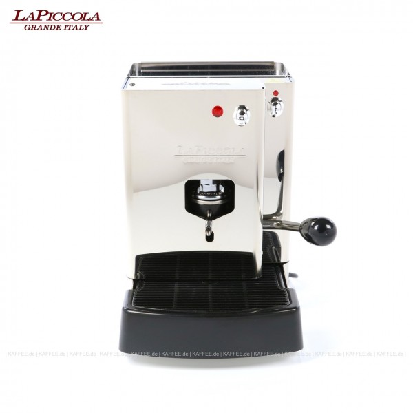 Espressomaschine für ESE-Pads (normal), Edelstahl mit Seitenteilen ebenfalls in Edelstahl, EAN-Code: 0000000001225