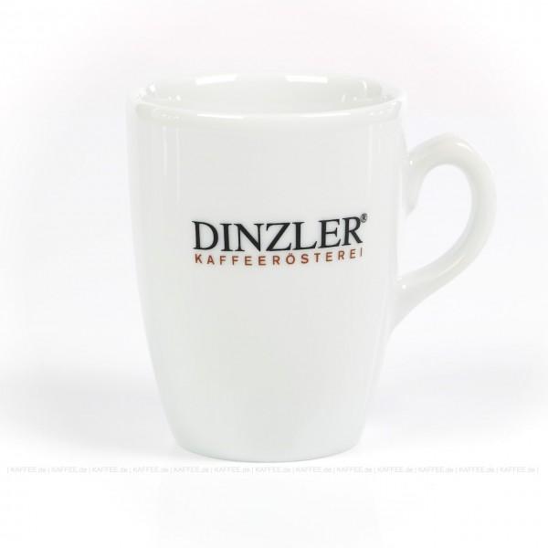 Glas mit Dinzler-Logo, 6 Gläser pro VPE, EAN-Code: