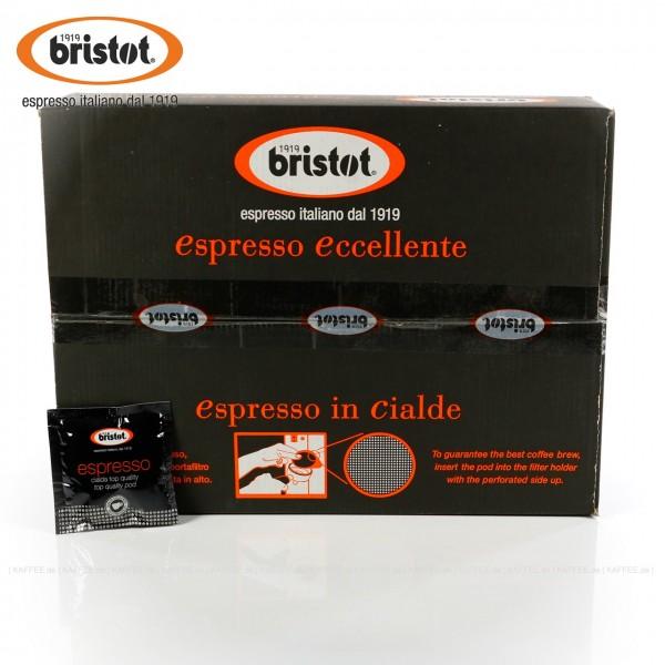 150 Pads je 7 g pro VPE, gemahlen, ESE-Standard 44 mm, Gesamtinhalt 1,05 kg pro VPE, EAN-Code: 48001681030010