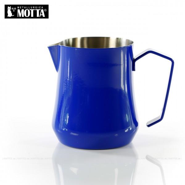 TULIP Milchkännchen aus Edelstahl (rostfrei), Füllmenge 500 ml, Farbe blau (außen), Gesamtinhalt 1 Stück pro VPE, EAN-Code: 8007986041517