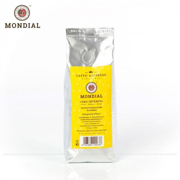 12 Bags je 250 g pro VPE, Bohne, Gesamtinhalt 3,00 kg pro VPE, EAN-Code: 8007888000636