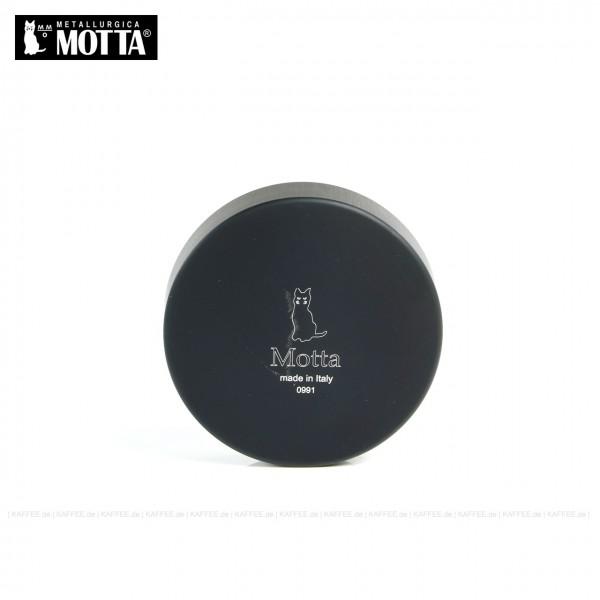 Leveller aus Edelstahl/Kunststoff schwarz,  Durchmesser 58,5 mm, Unterseite abgesenkt, Gesamtinhalt 1 Stück pro VPE, EAN-Code: 8007986083517