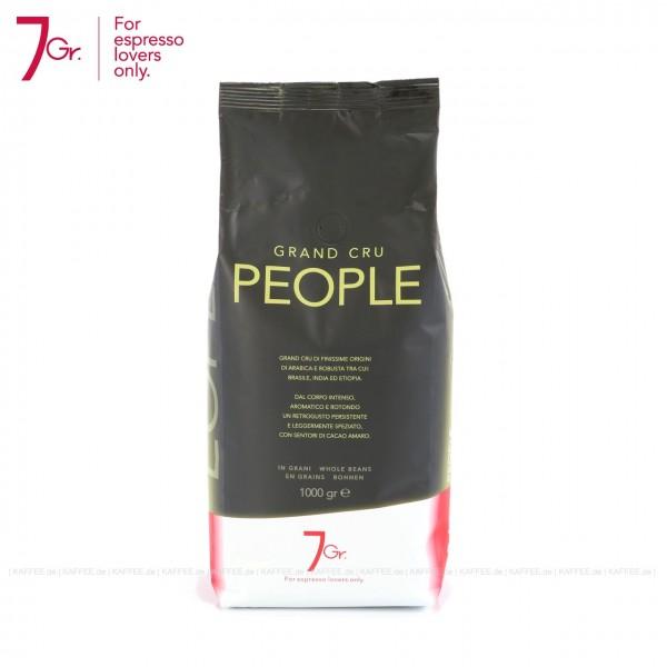 6 Bags je 1 kg pro VPE, Bohne, Gesamtinhalt 6,00 kg pro VPE, EAN-Code: 8034013280052