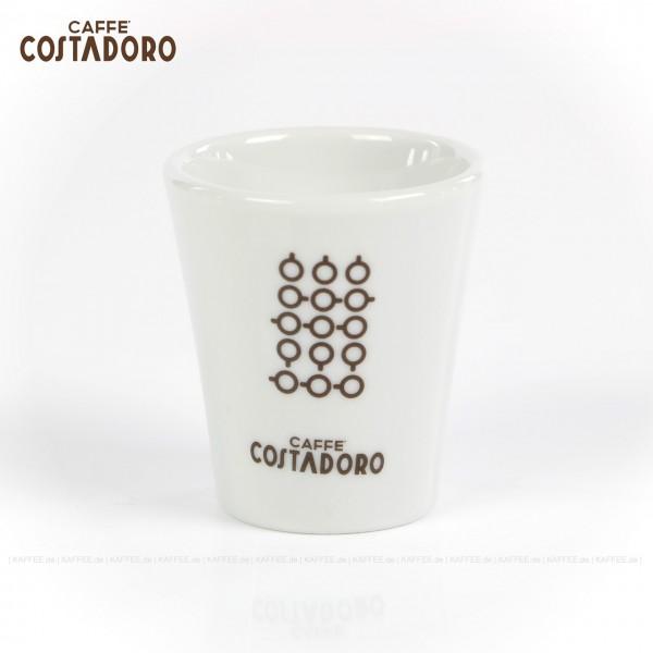 Farbe weiß mit Costadoro-Logo, 6 Gläser pro VPE, EAN-Code: 0000000002066