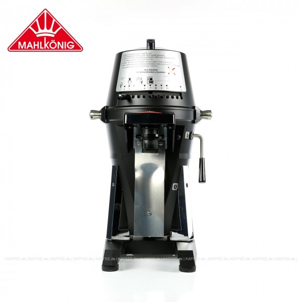 """Hochleistungskaffeemühle,  220-240 Volt (Einphasen- bzw. """"Haushaltstrom""""), 50-60 Hz, Mahlscheiben für Kaffee bzw. Espresso, Farbe schwarz matt (RAL 9005), EAN-Code: 0000000002155 ## Weitergehende Informationen und technische Details finden Sie auch auf de"""