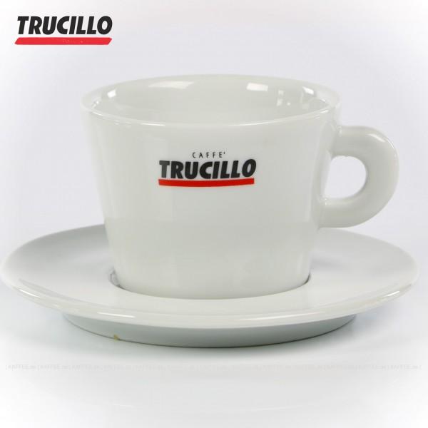 290cc, Farbe weiß mit Trucillo-Logo, 6 Tassen pro VPE, EAN-Code: