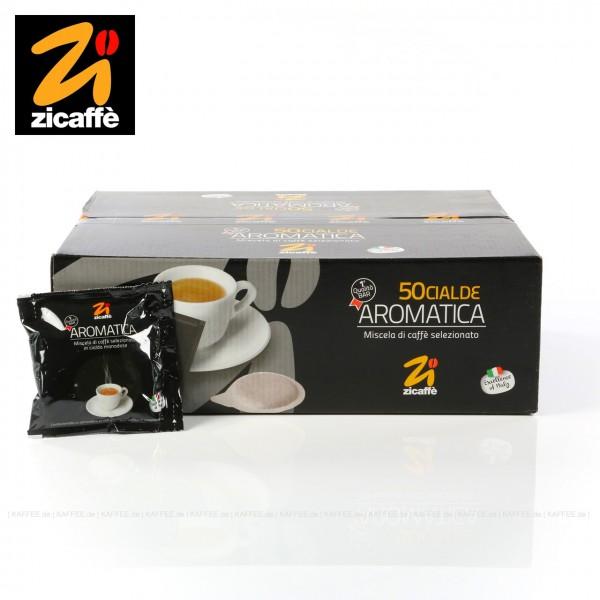 50 Pads je 7 g pro VPE, gemahlen, ESE-Standard 44 mm, Gesamtinhalt 0,35 kg pro VPE, EAN-Code: 58002076100162