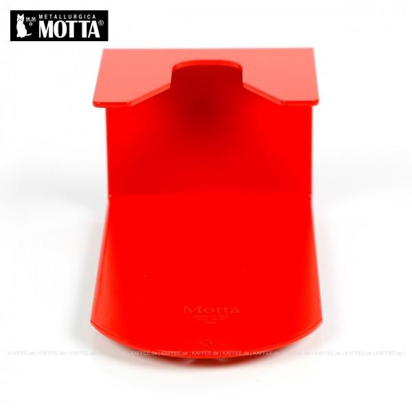 Tamperstation aus Edelstahl zum Einhängen des Tampers, Farbe rot, Gesamtinhalt 1 Stück pro VPE, EAN-Code: 8007986821706