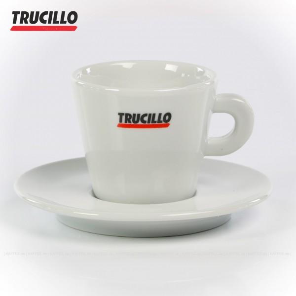 180cc, Farbe weiß mit Trucillo-Logo, 6 Tassen pro VPE, EAN-Code: