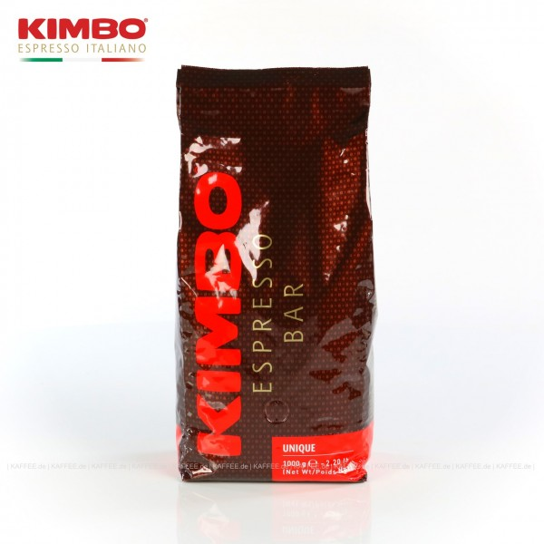 6 Bags je 1 kg pro VPE, Bohne, Gesamtinhalt 6,00 kg pro VPE, EAN-Code: 8002200140090