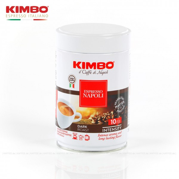 12 Dosen je 250 g pro VPE, gemahlen, Gesamtinhalt 3,00 kg pro VPE, EAN-Code: 8002200302412