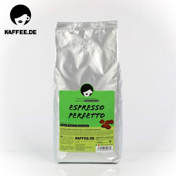 9 Bags je 1 kg pro VPE, Bohne, Gesamtinhalt 9,00 kg pro VPE, EAN-Code: 4260404690832