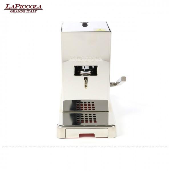 Espressomaschine für ESE-Pads (44 mm Standard-Pads), Edelstahlgehäuse mit Hochglanzoberfläche, EAN-Code: 0000000001482