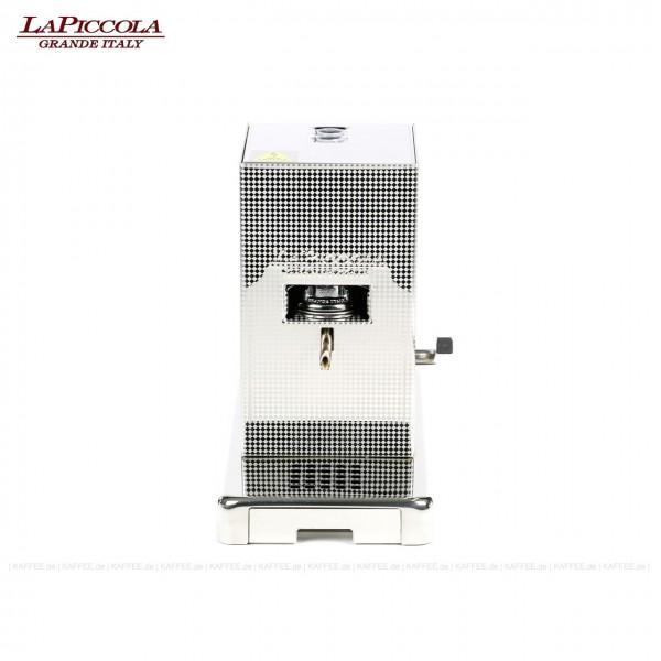 Espressomaschine für ESE-Pads (44 mm Standard-Pads), Edelstahlgehäuse, EAN-Code: 0000000002195