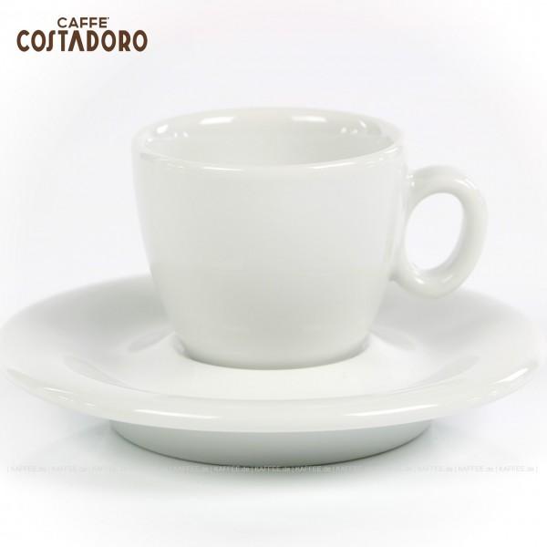 Farbe weiß mit Costadoro-Logo, 6 Tassen pro VPE, EAN-Code: 0000000002065