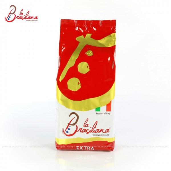 Ehemals La Brasiliana Special Rosso Extra, 6 Bags je 1 kg pro VPE, Bohne, Gesamtinhalt 6,00 kg pro VPE, EAN-Code: 8000389210009