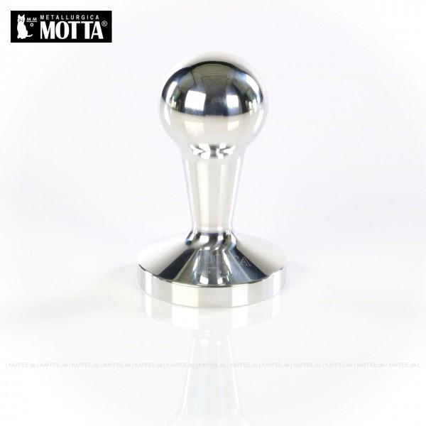 Tamper aus Aluminium, Durchmesser 58 mm, Tamperunterseite flach, Griff abgerundet, Gesamtinhalt 1 Stück pro VPE, EAN-Code: 8007986064103