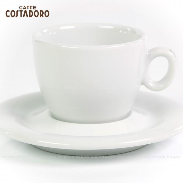 Farbe weiß mit Costadoro-Logo, 6 Tassen pro VPE, EAN-Code: 0000000002068