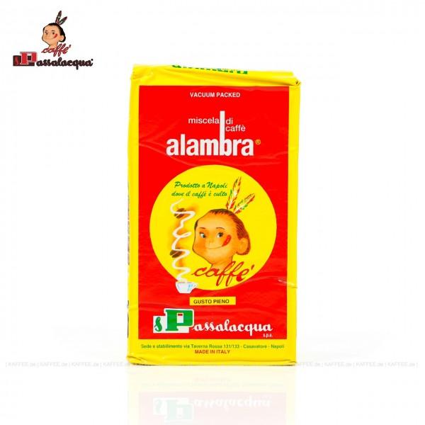 24 Päckchen je 250 g pro VPE (Vakuum), gemahlen, Gesamtinhalt 6,00 kg pro VPE, besonders geeignet für Bialetti, EAN-Code: 8003303014110