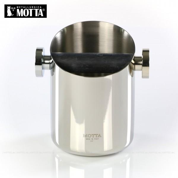 Abklopfbox aus Edelstahl, Durchmesser 105 mm mit Abklopfbalken aus Gummi, Gesamtinhalt 1 Stück pro VPE, EAN-Code: 8007986077509