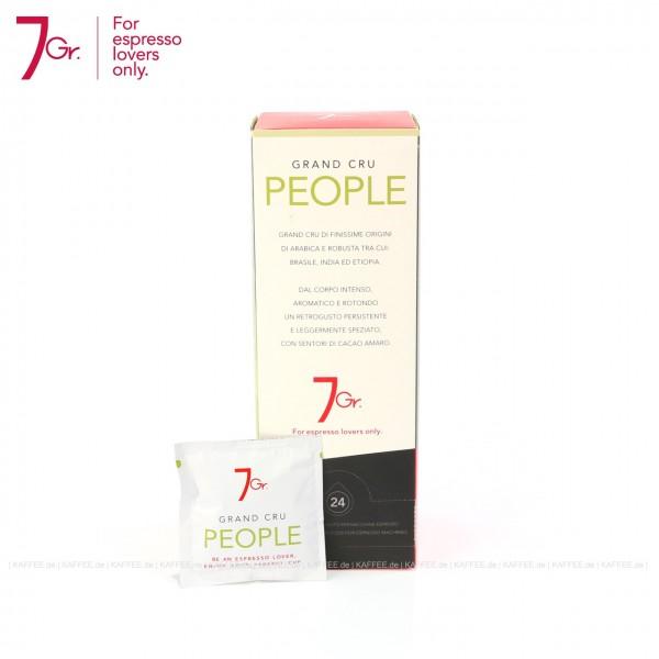 12 x 24 Pads je 7 g pro VPE, gemahlen, ESE-Standard 44 mm, Gesamtinhalt 2,016 kg pro VPE, EAN-Code: 8034013280021