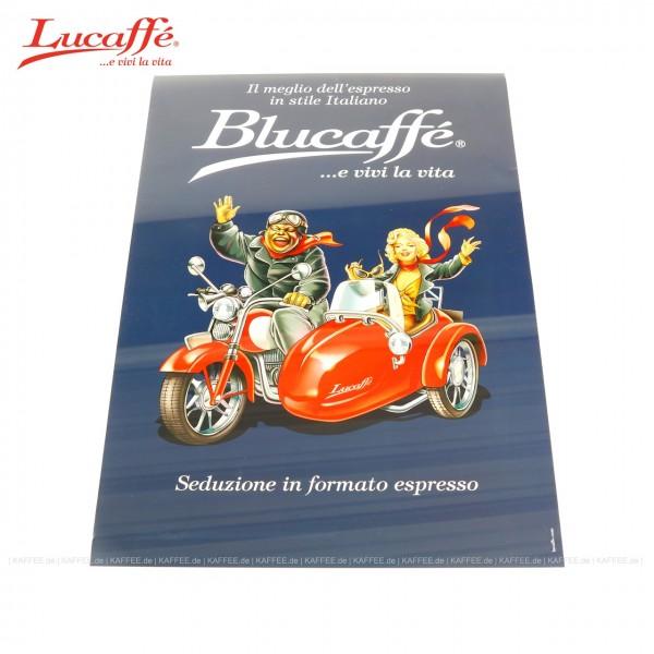Motiv Blucaffé, Größe 48x68 cm, Marketing- bzw. Werbeartikel, EAN-Code: 0000000001599