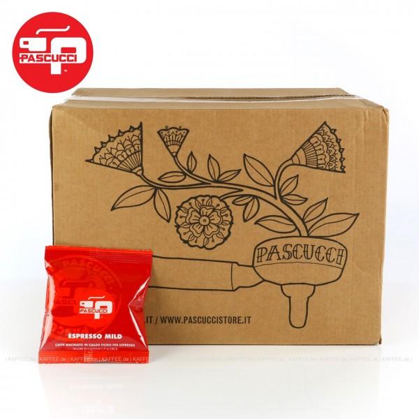 100 Pads je 7 g pro VPE, gemahlen, ESE-Standard 44 mm, Gesamtinhalt 700 g pro VPE, EAN-Code: 8010917001115